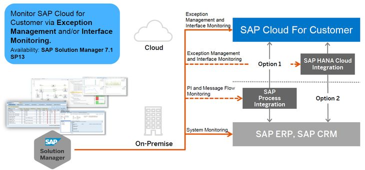 Integration Monitoring for SAP Cloud for Customers