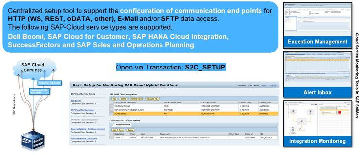 Setup of SAP based Cloud Services